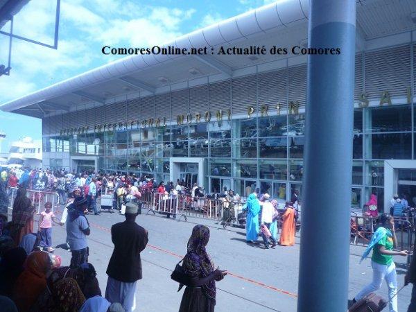 Aviation: Un ciel aérien très nuageux en ce moment aux Comores