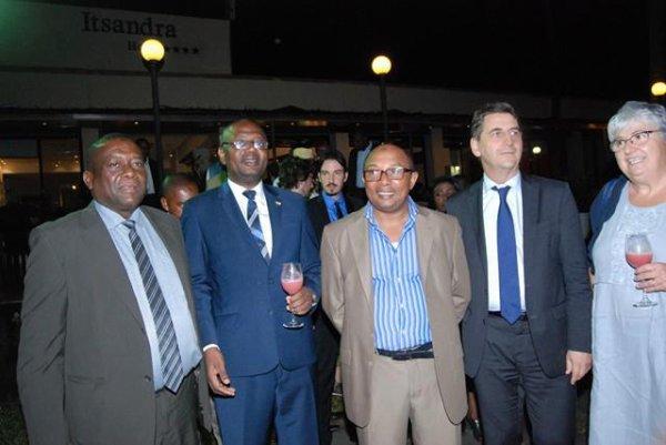 Une mission réussite pour la délégation française