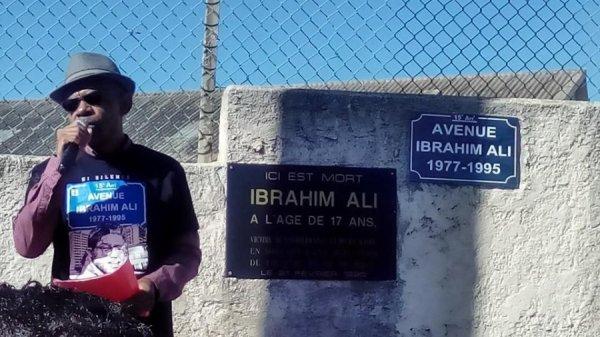 Ibrahim ALI, l'adolescent  tombé aveuglement sous les balles d'un militant du Front National