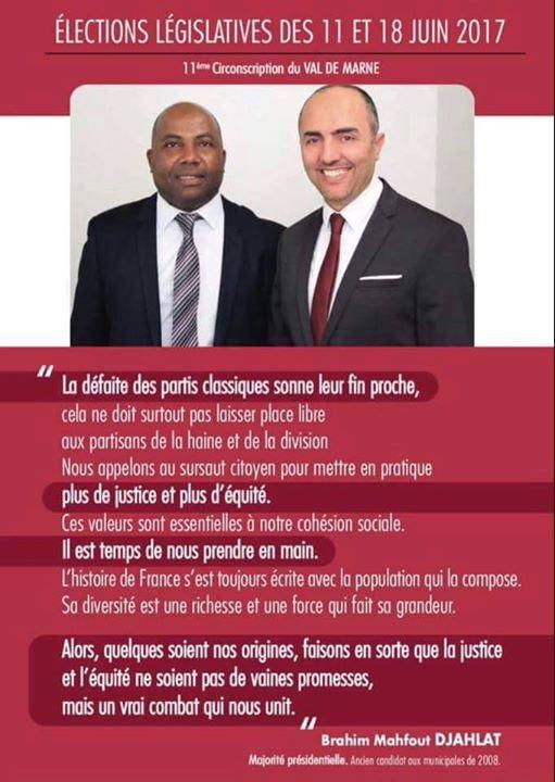 Législatives: Tout est possible en osant avec le ticket Mafout DJAHLAT et KARI Abdou Ttoihir