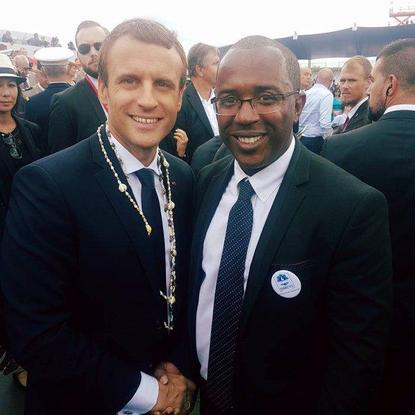 Le patriote JACK LAVANE et le président MACRON