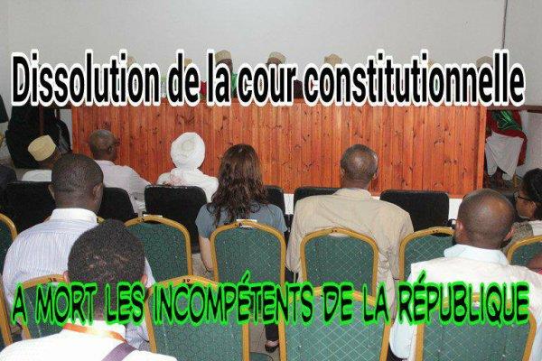 Assises : AZALI s'attaque aux institutions
