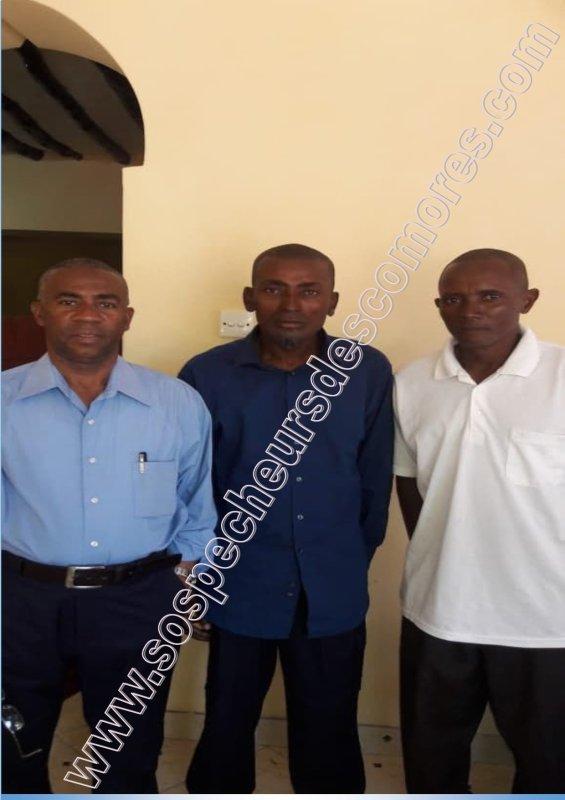 Communiqué de sospecheurs des Comores: Une fin heureuse pour nos pêcheurs de Djomani