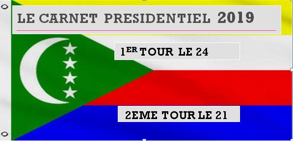 Le carnet présidentielle: Azali veut diviser l'electorat de JUWA à Moroni