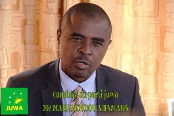 Carnet présidentiel: Le parti JUWA se solidarise autour d candidat Me Mahamoud