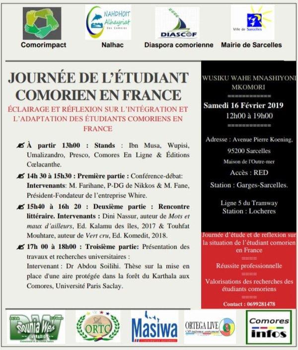 Journée de l'étudiant comorien en France
