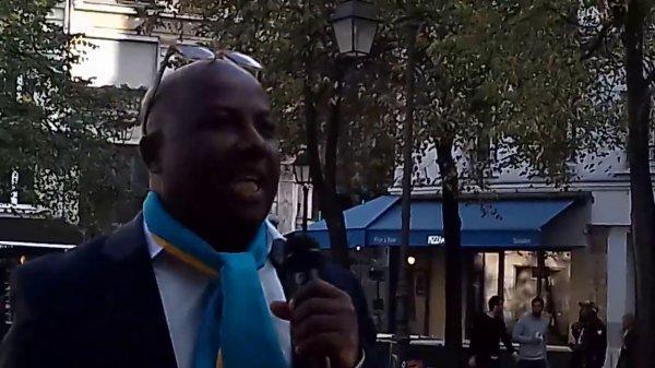 Manifestation de Paris: Intervention sur la loi d'habilitation