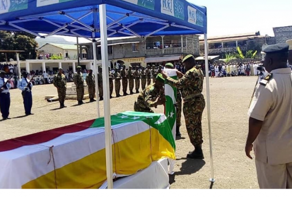 Obsèques : Ie colonel Mohamed Anrifi alias Obama devant Dieu