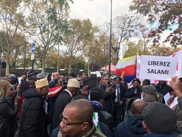 Manif du 12 novembre sur l'admission des Comores aux nations unies