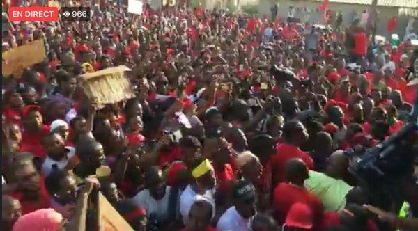 La marche du 24 novembre contre système AZALI