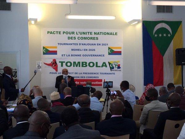 Politique: Le pacte du séparatisme  anjouanais à Montreuil