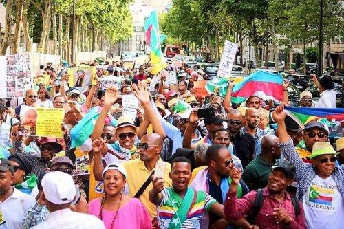 Marche contre les violences sexuelles aux Comores