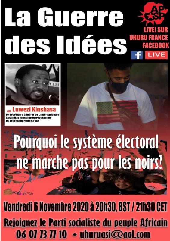 La guerre des idées avec l'international socialiste du peuple Africain