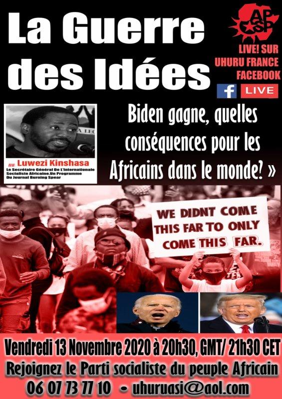 La guerre des idées avec le SG de l'international socialiste du peuple africain