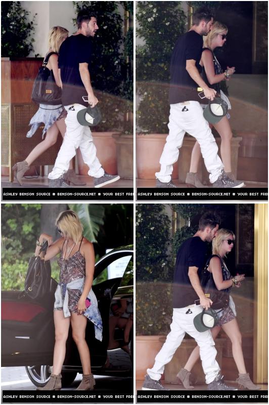 Ashley Benson ~ Elle a été aperçu à l'entrée de l'hotel Sunset Tower à L.A