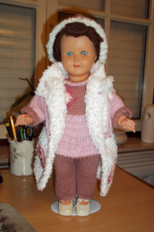 Il fait froid donc je tricote