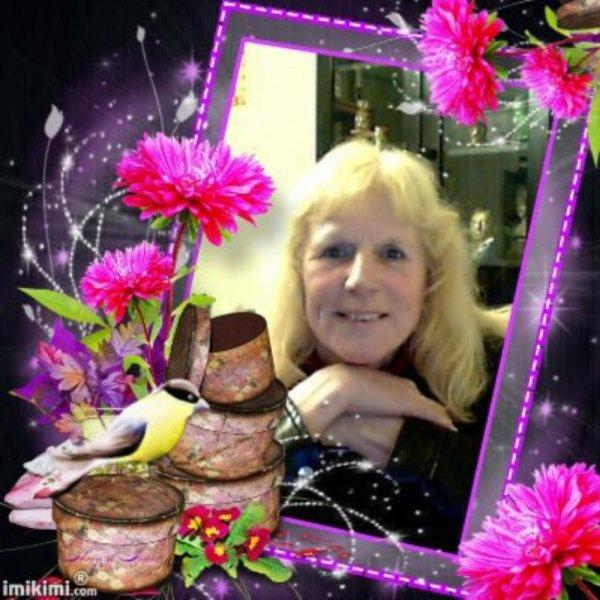 cadeau pour mon anniversaire du blog 49 cibeline merci nadine c'est tres gentille de ta part pour ce manifique montage de moi bisous