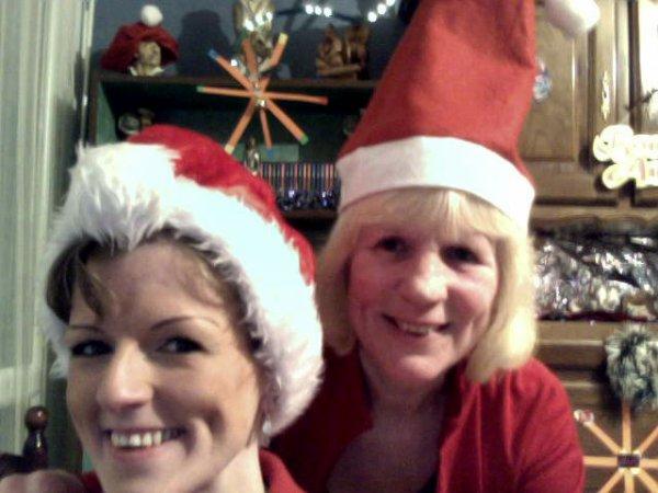 ma fille angy et moi  passage de noel 2013