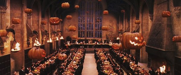 Thé d'Halloween à Godric's Hollow ♥