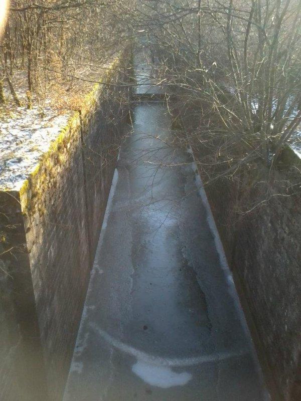 canal de Montbeliard a la Haute-Saone
