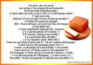 lire en patois