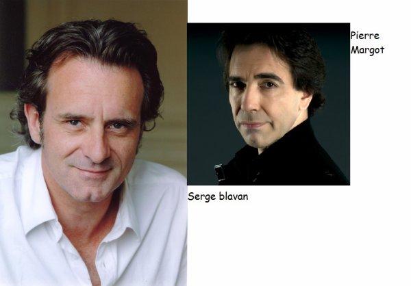 Serge Blavan et Pierre Margot