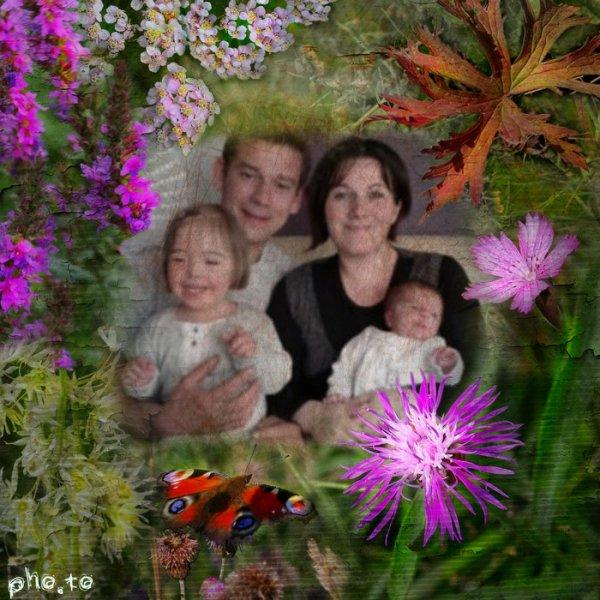 Louane et sa p'tite famille.