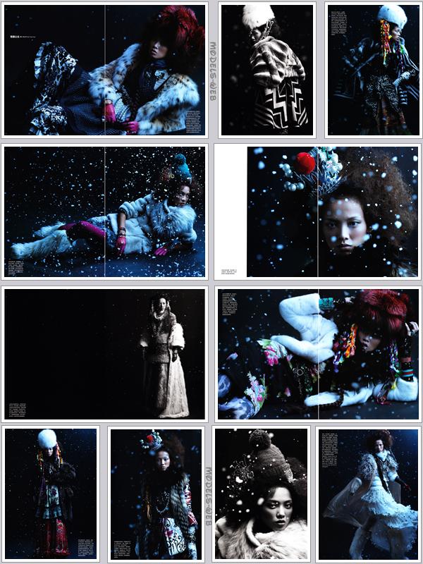. Sasha Pivovarova ■■ Numéro Chine #3 Novembre 2010 by Greg Kadel | Sasha  $) !.