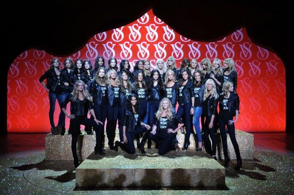 . Victoria's Secret Fashion Show Cast 2010.