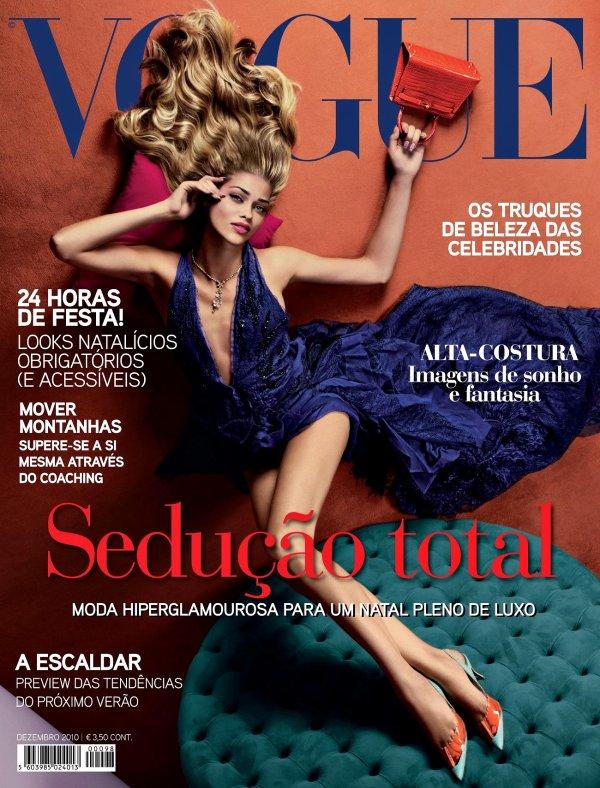 . Ana Beatriz Barros ■■ Vogue Portugal Novembre 2010 by Sølve Sundsbø.