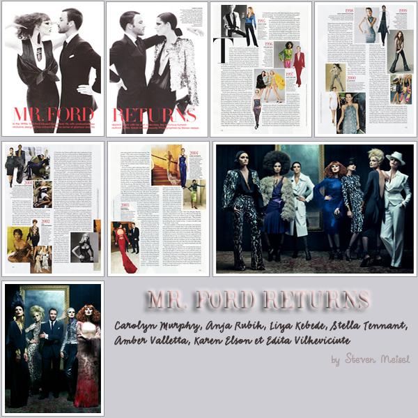 . Vogue Us Décembre 2010.