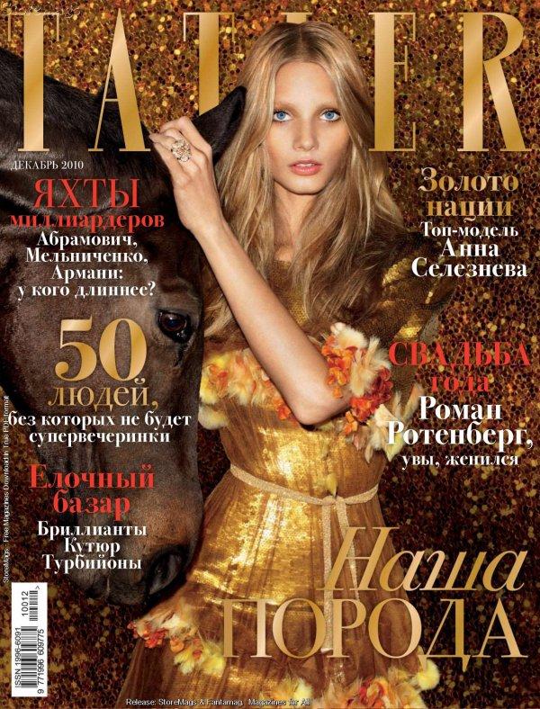 . Anna Selezneva ■■ Tatler Russie Décembre 2010 | Sublime!.