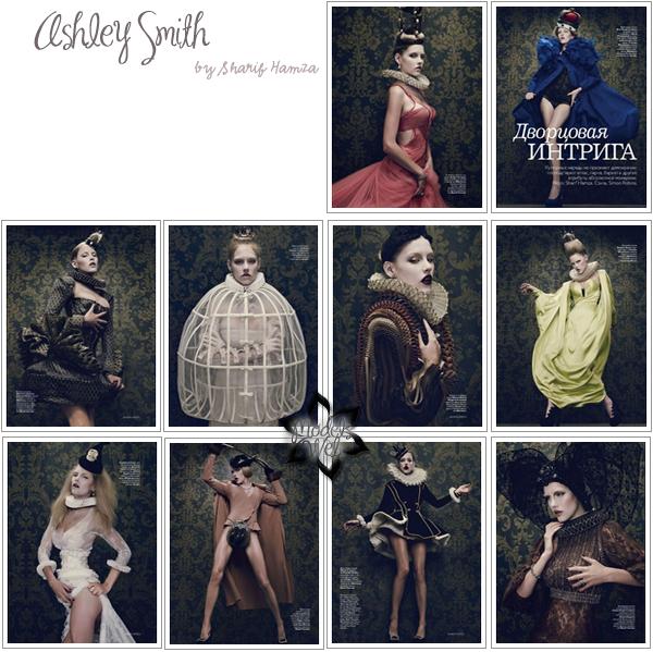 . Jessica Stam ■■ Vogue Russie Décembre 2010.