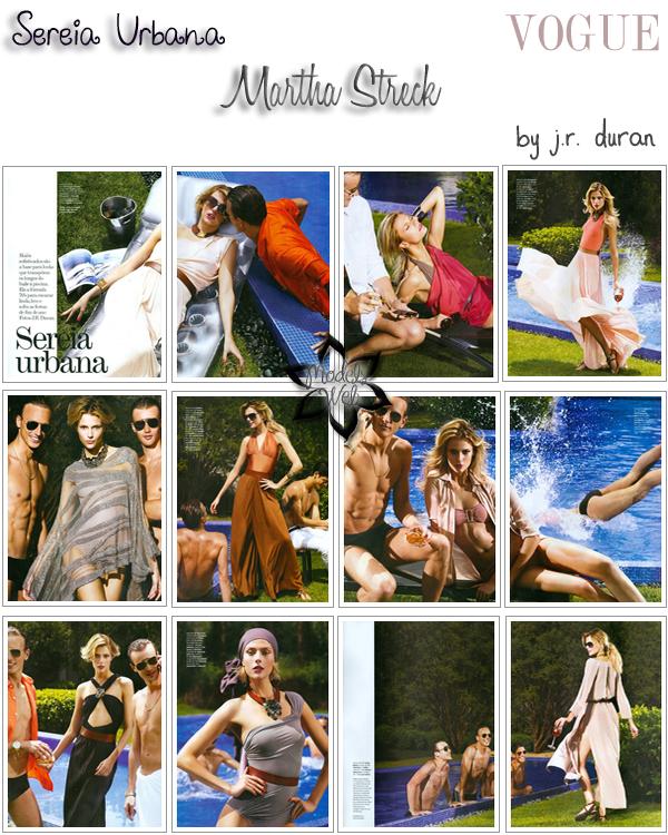 . Raquel Zimmermann ■■ Vogue Brésil Décembre 2010 | C'est frais j'aime bien.