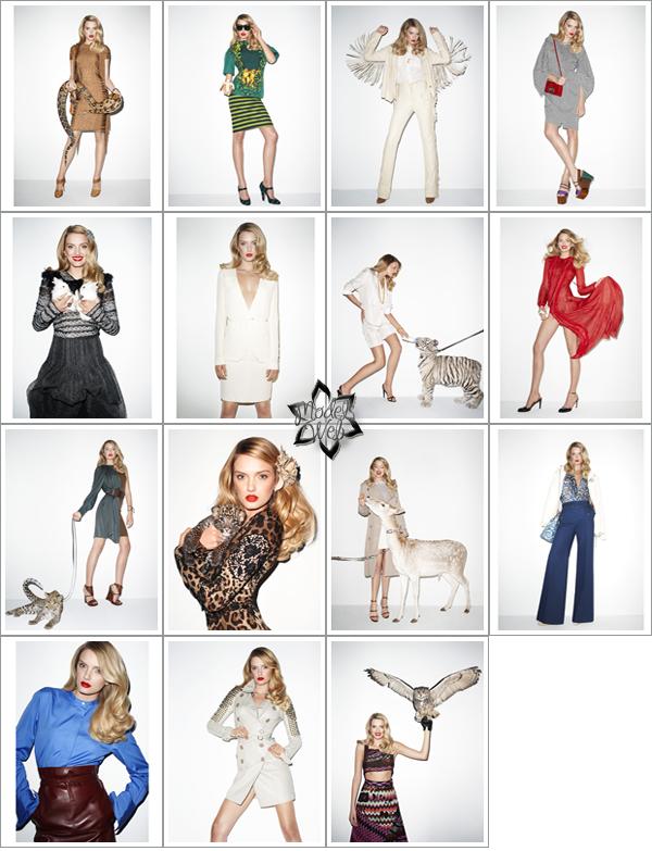 . Lily Donaldson | US Harper's Bazaar Janvier 2011 by Terry RichardsonSimple mais assez réussi
