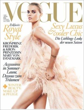 . Maryna Linchuk | Vogue Allemagne Janvier 2011Absolument divin!