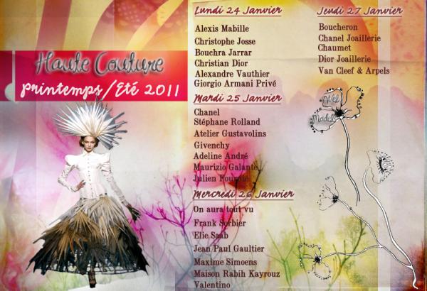 . Haute Couture S/S 2011 | Programmation.