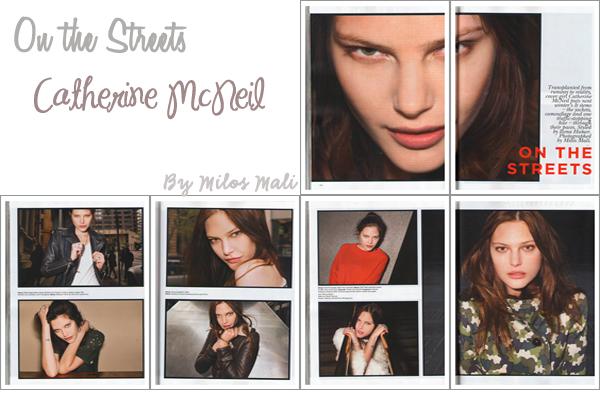 ° Catherine McNeil | Vogue Australie Février 2011 by Max DoyleCatherine nous amène l'été