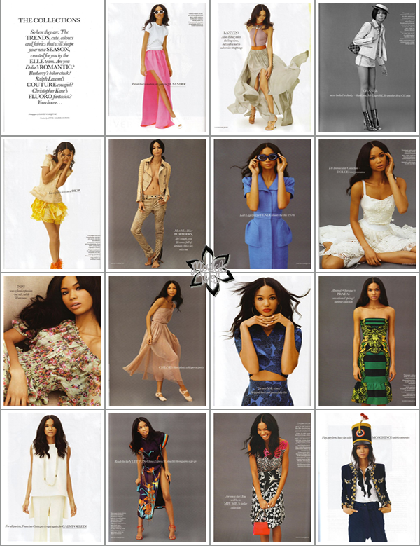 ° Chanel Iman | Elle UK Février 2011 by David VasiljevicSympa l'édito