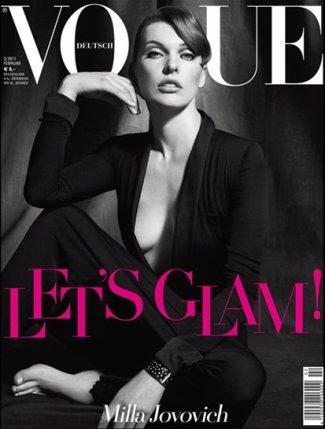 ° Milla Jovovich   Vogue Allemagne Février 2011