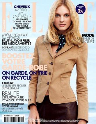 . Patricia van der Vliet|ELLE France du 14 janvier 2011