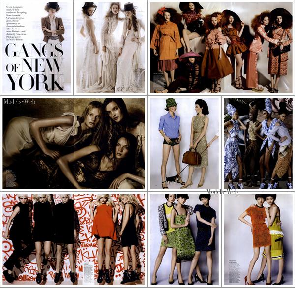 Vogue US Février 2011