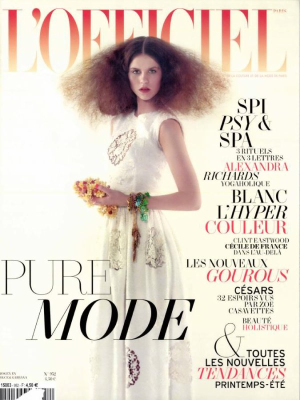 Imogen Newton | L'Officiel Paris Février 2011