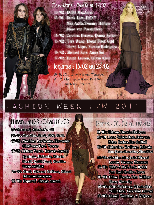 Fashion Week F/W 2011 - 2012