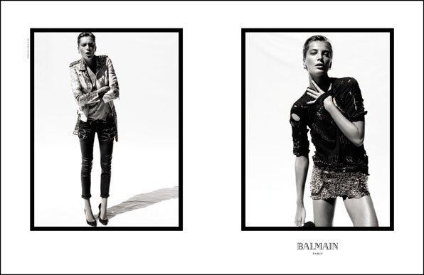 Daria Werbowy | Balmain S/S 2011