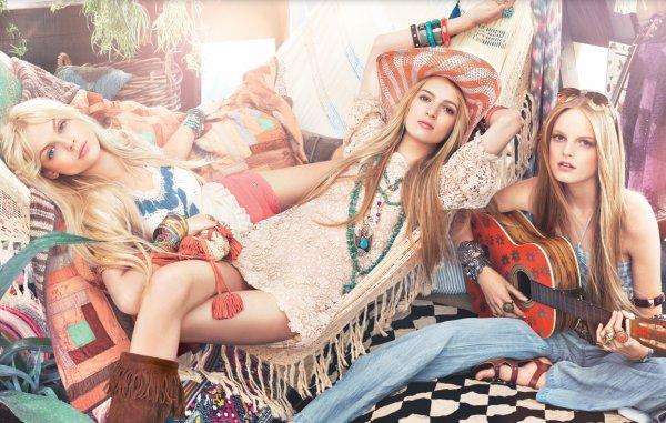 Daria Strokous, Hanne Gaby Odiele & Viktoriya Sasonkina | Juicy Couture S/S 2011