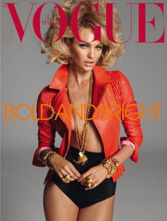 Candice Swanepoel | Vogue Italie Février 2011 by Steven Meisel