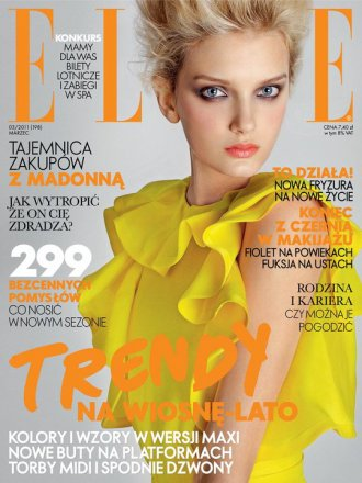 Lily Donaldson | Elle Pologne Mars 2011 by Alex Cayley[mode.newslicious.net]