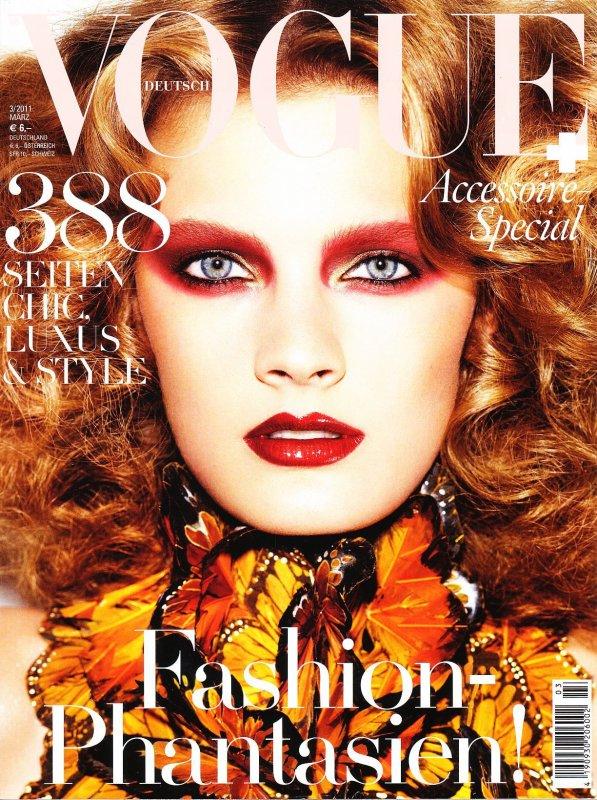 Constance Jablonski | Vogue Allemagne Mars 2011