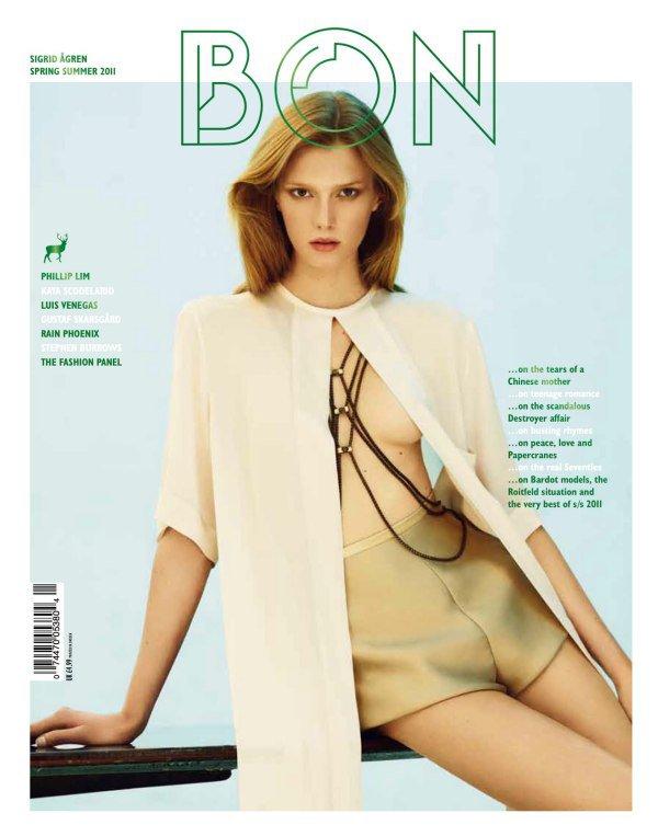 Sigrid Agren | Bon International S/S 2011